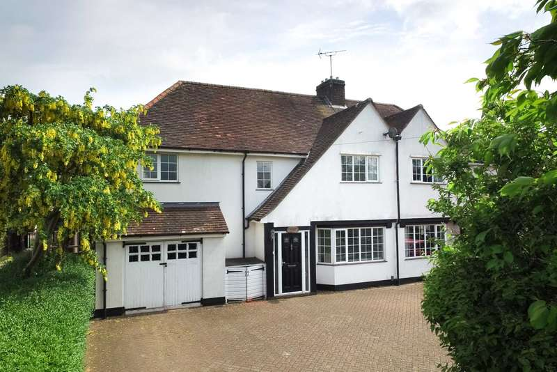 4 Bedrooms Semi Detached House for sale in Leverstock Green, Hemel Hempstead