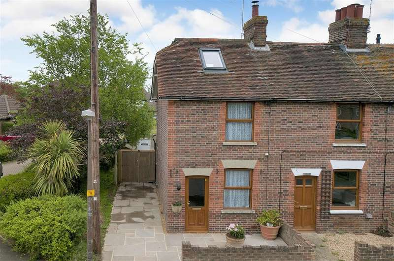 2 Bedrooms End Of Terrace House for sale in Howland Road, Marden, Tonbridge