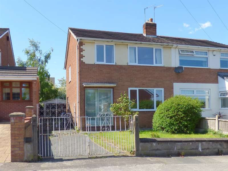 3 Bedrooms Semi Detached House for sale in Fernbank Avenue, Huyton, Liverpool