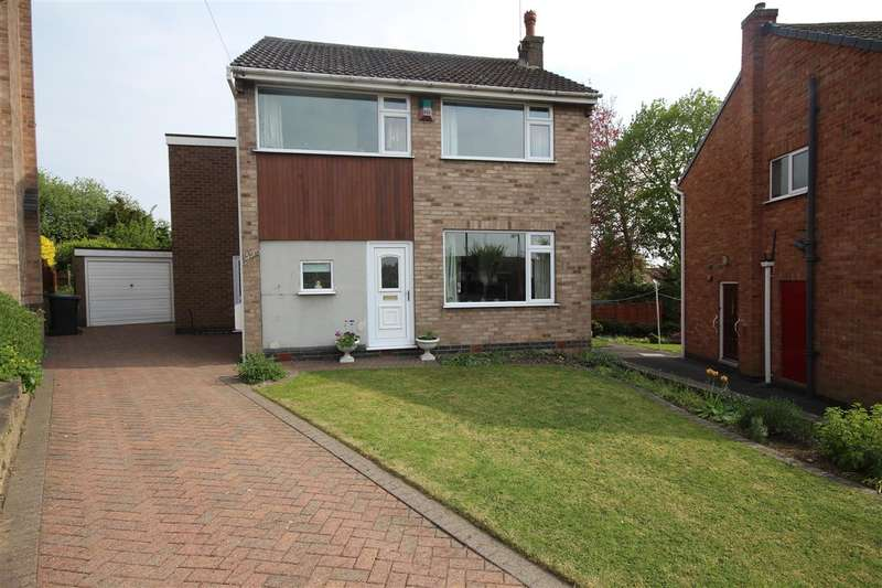 4 Bedrooms Detached House for sale in Nursery Hollow, Ilkeston