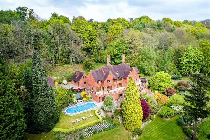 6 Bedrooms Detached House for sale in Upper Vann, Hambledon, Godalming, Surrey, GU8