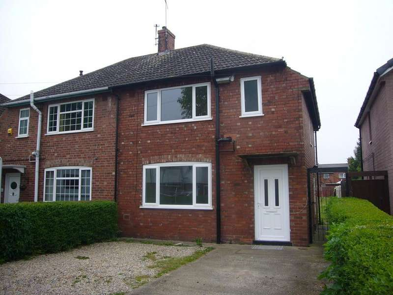 3 Bedrooms Semi Detached House for sale in Pasture Avenue, Goole