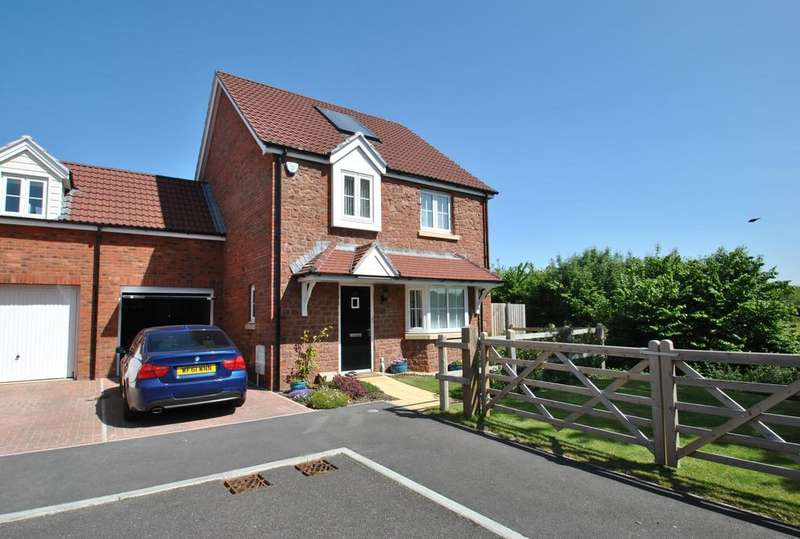 4 Bedrooms Detached House for sale in Aller Mead Way, Williton