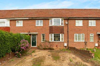 2 Bedrooms Terraced House for sale in Highfield Crescent, Brogborough, Bedford, Bedfordshire