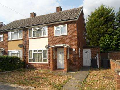 3 Bedrooms End Of Terrace House for sale in Barley Way, Bedford, Bedfordshire