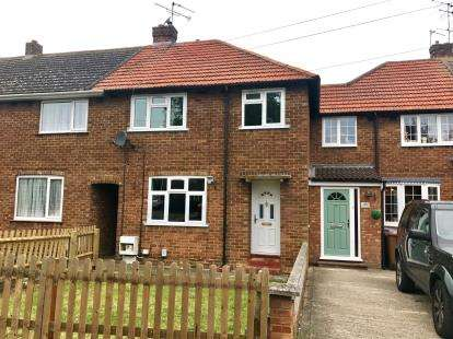3 Bedrooms Terraced House for sale in Hall Mead, Letchworth Garden City, Hertfordshire, England