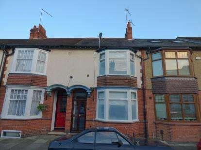 4 Bedrooms Terraced House for sale in Sandringham Road, Abington, Northampton, Northamptonshire