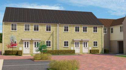 2 Bedrooms Terraced House for sale in Wittel Close, Windmill Street, Whittlesey, Cambridgeshire