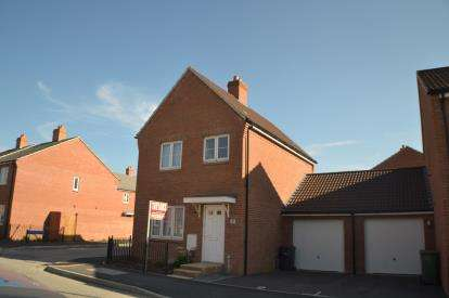 3 Bedrooms Detached House for sale in Wendling Road Kingsway, Quedgeley, Gloucester, Gloucestershire