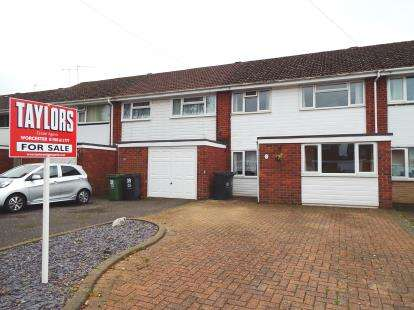 4 Bedrooms Terraced House for sale in Columbia Drive, Worcester, Worcestershire