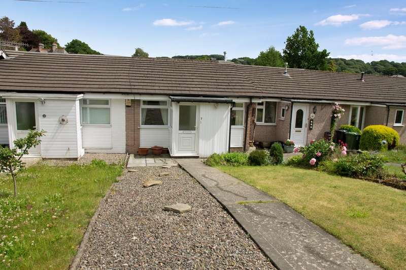 2 Bedrooms Terraced Bungalow for sale in 7 Rusland Park, Kendal, Cumbria LA9 6AP