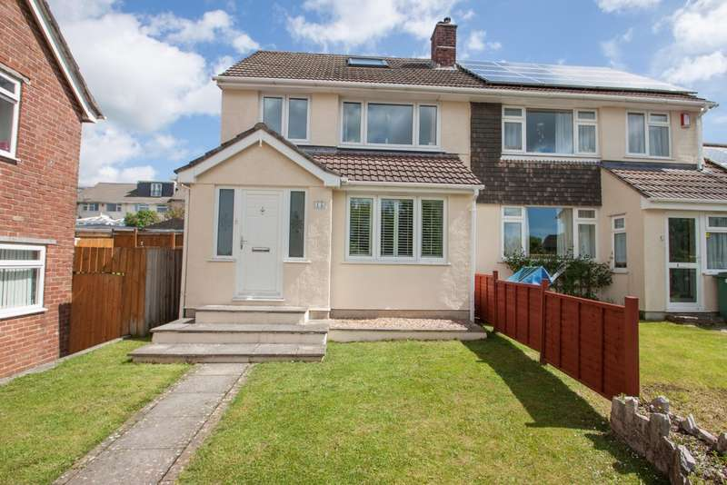 4 Bedrooms Semi Detached House for sale in Widewell, Plymouth
