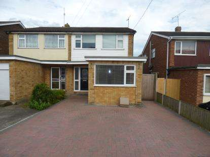4 Bedrooms Semi Detached House for sale in Benfleet, Essex, Uk
