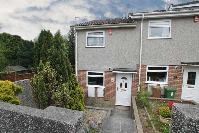 2 Bedrooms End Of Terrace House for sale in Frewin Gardens, Southway, PL6 6PN