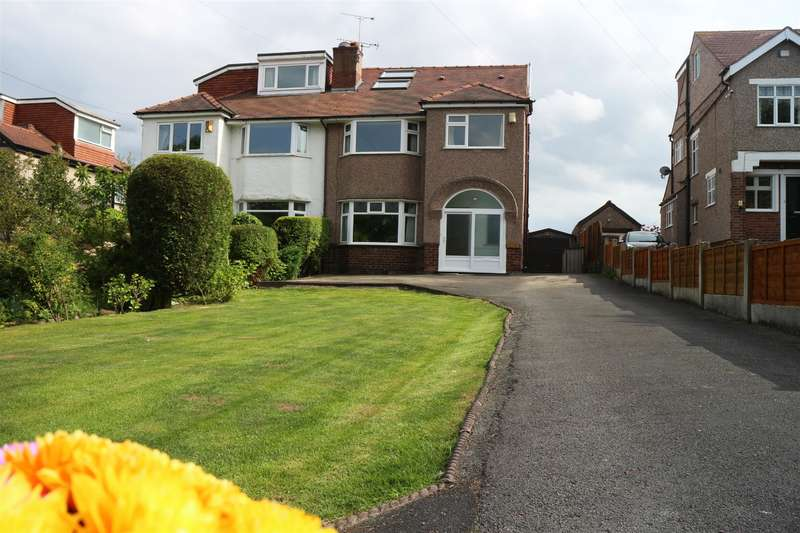 4 Bedrooms Semi Detached House for sale in Thingwall Road, Irby, Wirral, CH61 3UG
