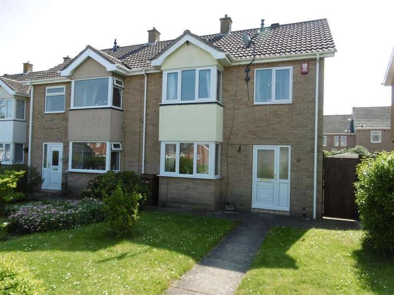 3 Bedrooms Semi Detached House for sale in 11 Hollingsworth Close, Cleethorpes, DN35 0SQ