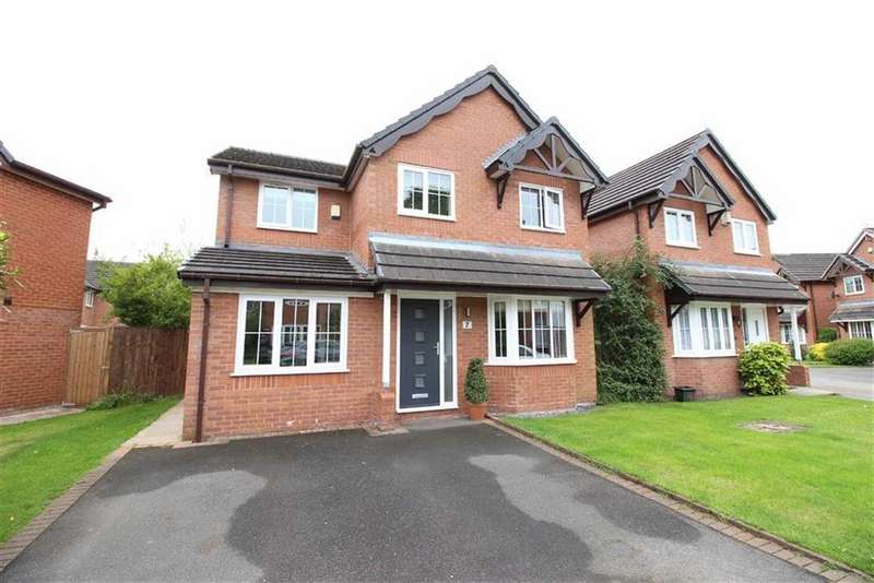 4 Bedrooms Detached House for sale in Carnegie Close, Sale