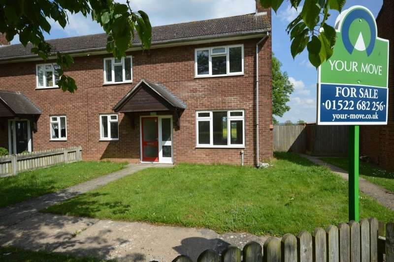 2 Bedrooms Semi Detached House for sale in Nettleton Drive, Witham St. Hughs, Lincoln, LN6