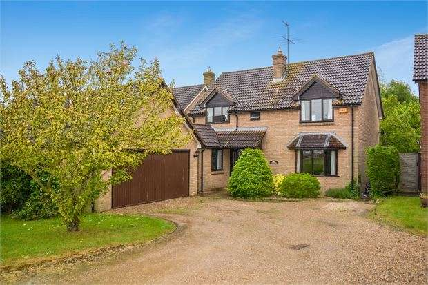 4 Bedrooms Detached House for sale in Putlowes Drive, Fleet Marston, Buckinghamshire. HP18 0PX