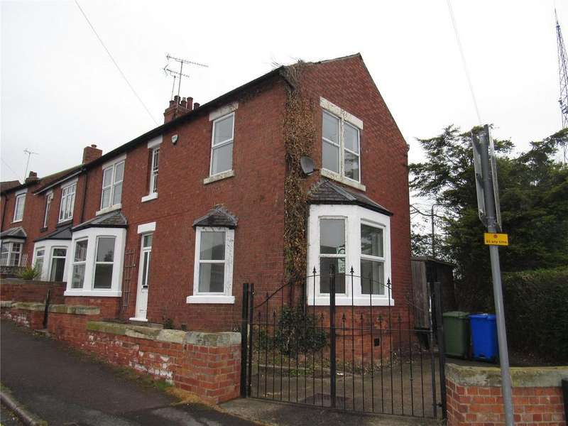 3 Bedrooms End Of Terrace House for sale in Brunts Street, Mansfield, Nottinghamshire, NG18