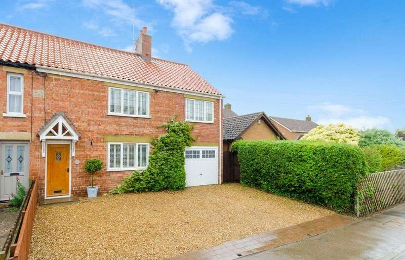 4 Bedrooms Semi Detached House for sale in Northorpe, Thurlby, Bourne, PE10