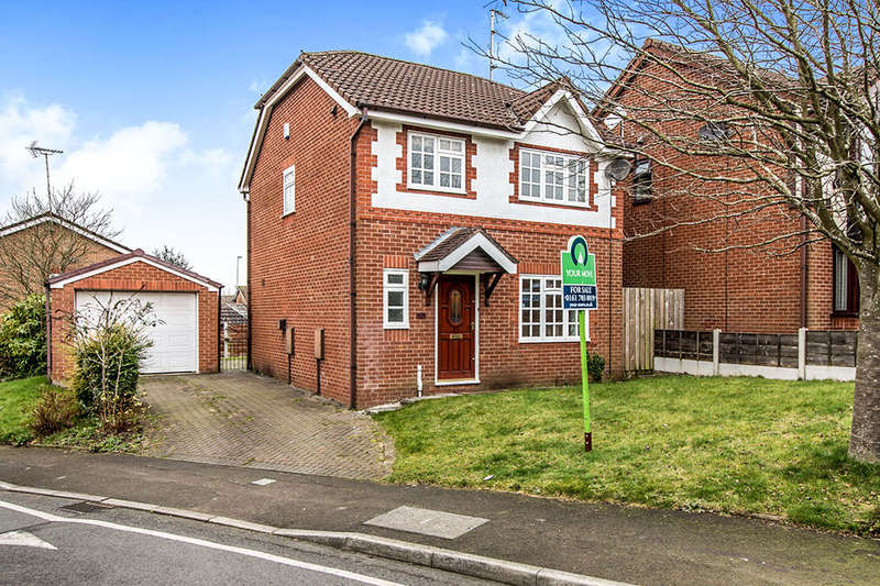 3 Bedrooms Detached House for sale in Quarry Pond Road, Worsley, Manchester, M28