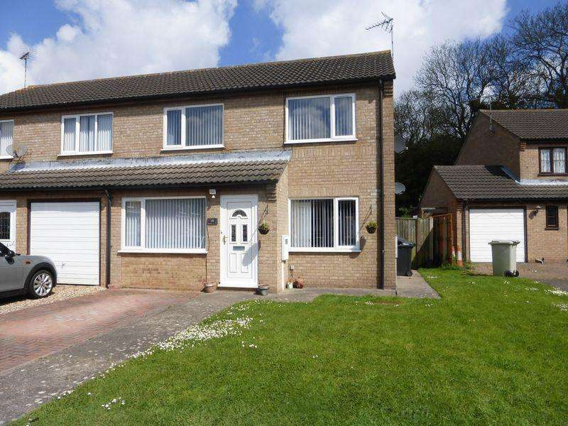 3 Bedrooms Semi Detached House for sale in Royal Arthur Close, Skegness