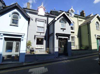 4 Bedrooms Terraced House for sale in Roche Terrace, Porthmadog, Gwynedd, LL49