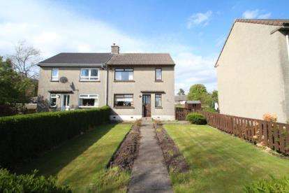 2 Bedrooms Semi Detached House for sale in Livingston Terrace, Dunlop