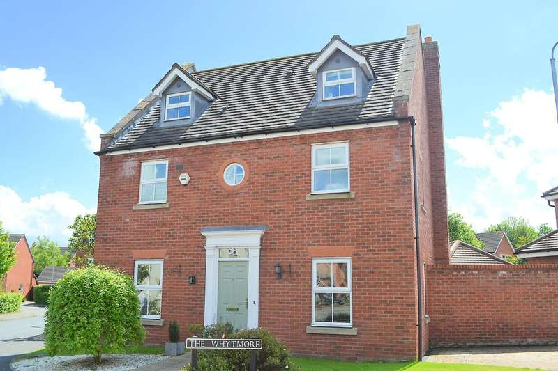 5 Bedrooms Detached House for sale in The Whytmore, Lichfield