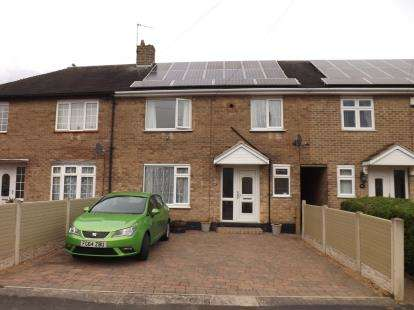 3 Bedrooms Terraced House for sale in Peacock Crescent, Clifton, Nottingham