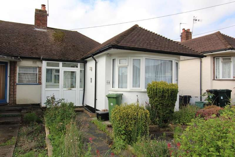 2 Bedrooms Semi Detached Bungalow for sale in Borkwood Way, Orpington, Kent, BR6 9PF