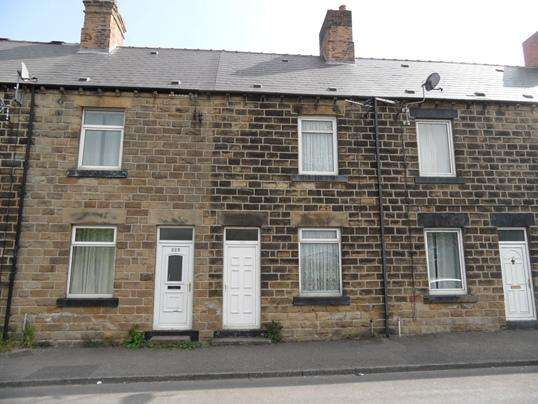 2 Bedrooms Terraced House for sale in 223 Barnsley Road, Platts Common, Barnsley, S74 0RQ