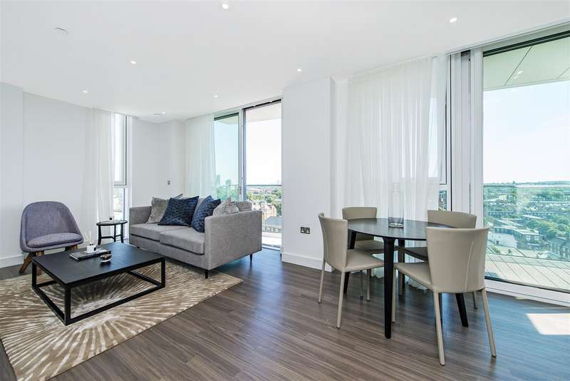 2 Bedrooms Flat for sale in Pinto Tower, Nine Elms Point, 4 Hebden Place, London SW8