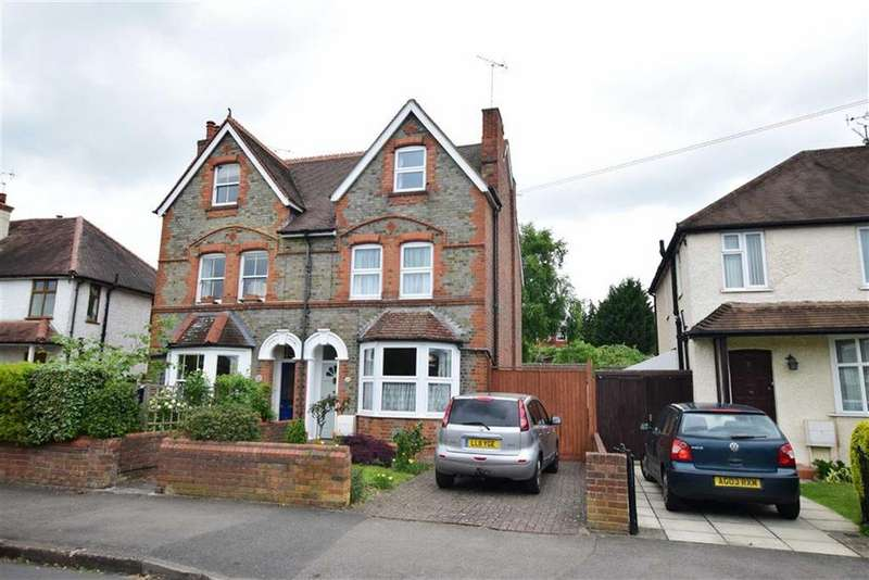 4 Bedrooms Semi Detached House for sale in South View Avenue, Caversham, Reading