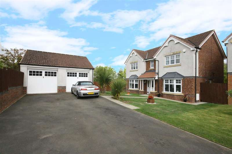 4 Bedrooms Detached House for sale in Wallace Brae Drive, Falkirk