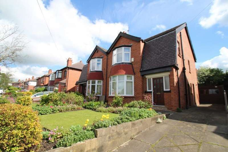 3 Bedrooms Semi Detached House for sale in WENSLEY ROAD, LEEDS, LS7 2LS