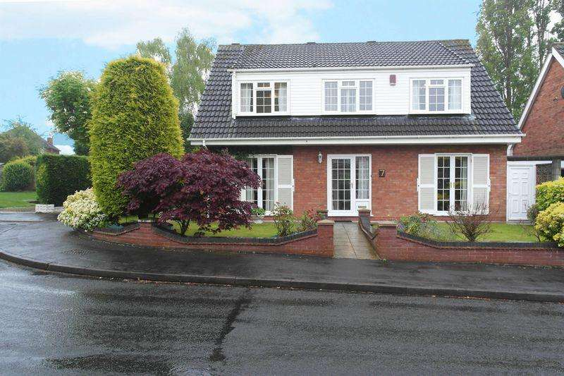 4 Bedrooms Detached House for sale in Rushwood Close, Walsall