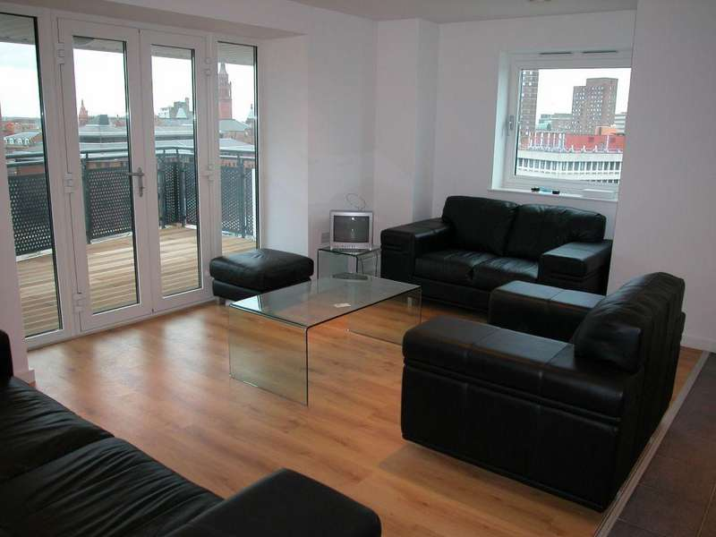 2 Bedrooms Apartment Flat for rent in Masshouse, Birmingham