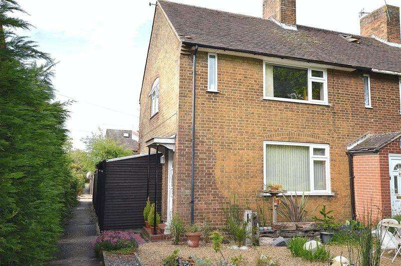 2 Bedrooms Terraced House for sale in Farnborough Road Carbrooke