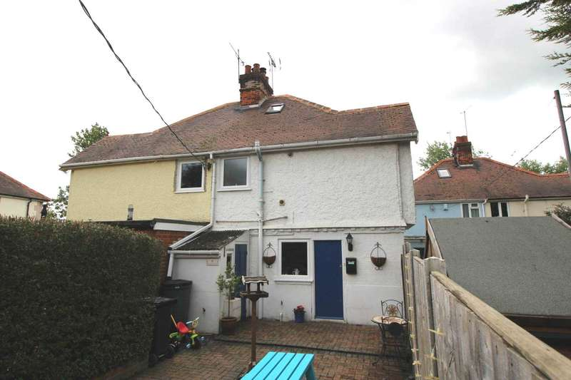 2 Bedrooms Semi Detached House for sale in Boulton Cottages, Stock Chase, Heybridge
