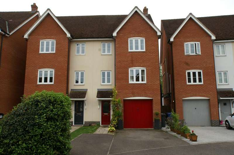 4 Bedrooms Town House for sale in Corporal Lillie Close, Sudbury CO10