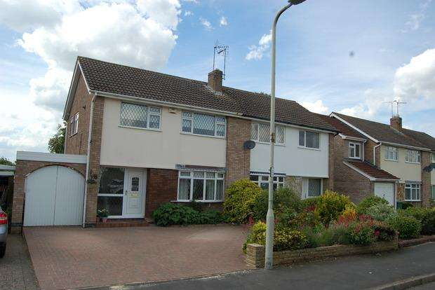 3 Bedrooms Semi Detached House for sale in Harrington Road, Wigston, LE18