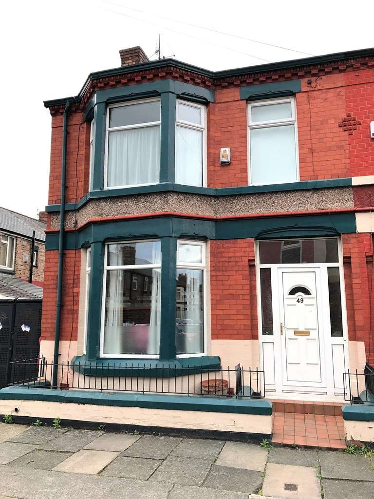 4 Bedrooms End Of Terrace House for sale in Calthorpe Street, Garston, Liverpool L19 1RF