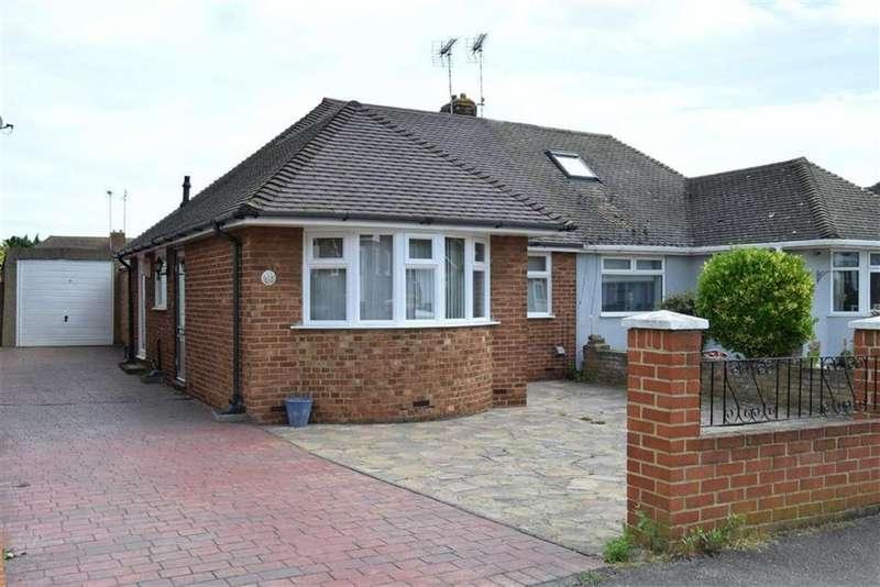 1 Bedroom Semi Detached Bungalow for sale in Wooldeys Road, Rainham, Kent, ME8