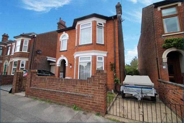 3 Bedrooms Detached House for sale in Darwin Road, Ipswich