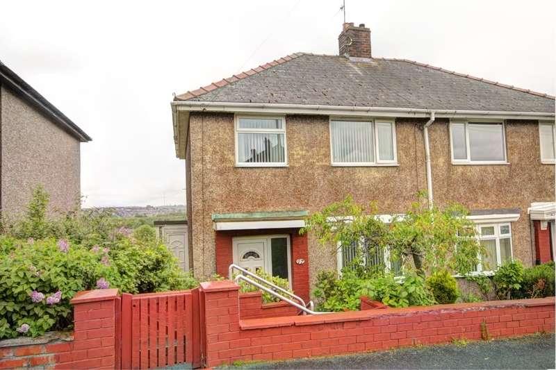 3 Bedrooms Semi Detached House for sale in Castledene Road, Consett, DH8