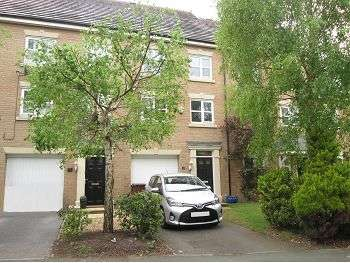 3 Bedrooms Terraced House for sale in Malt Kiln Way, Sandbach, CW11 1JL