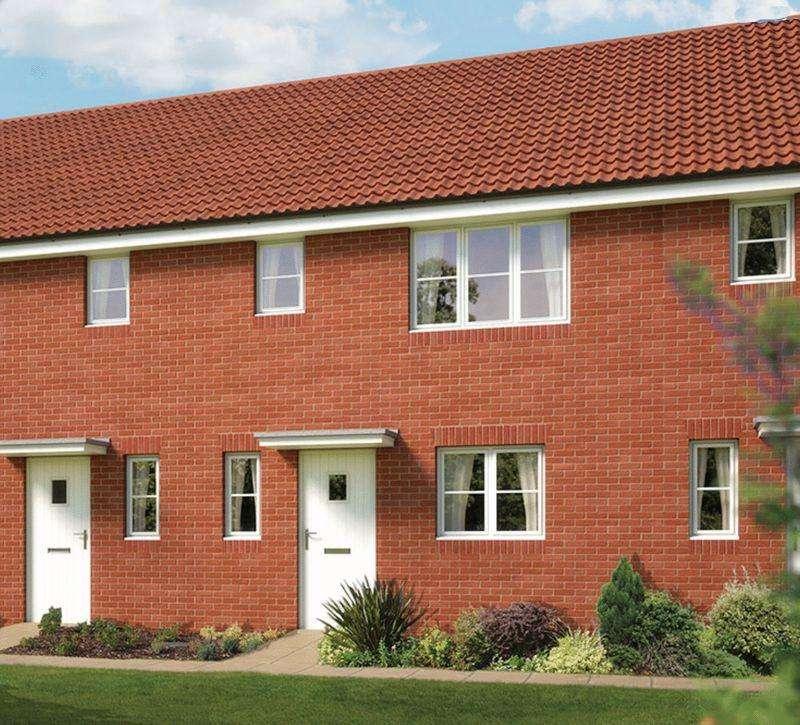 3 Bedrooms Terraced House for sale in Morris Gardens, Fordham Road, Soham