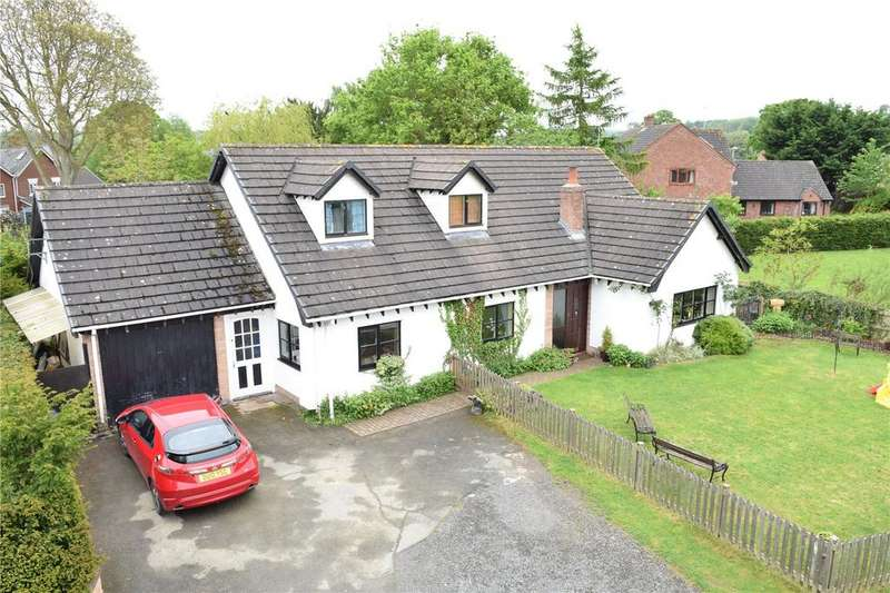 5 Bedrooms Detached Bungalow for sale in Guilsfield, Welshpool, Powys